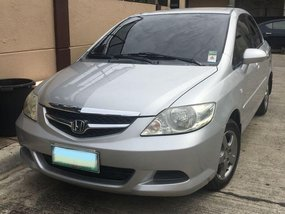 Silver Honda City 2007 for sale in Cebu City