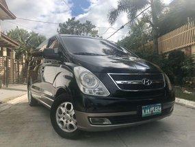 Sell Black  2013 Hyundai Starex in Manila