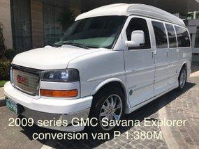 2009 series Gmc Savana Explorer conversion Van