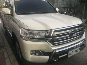 Pearl White Toyota Land Cruiser 2018 for sale in Pasig