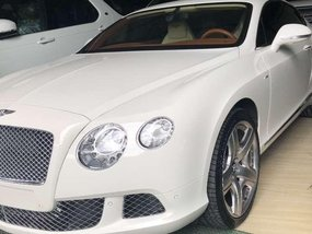 Pearl White Bentley Continental 2015 for sale in Automatic