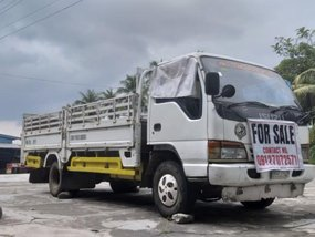 White Isuzu Elf 1997 for sale in Digos