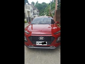 Red Hyundai KONA 2018 for sale in  Automatic