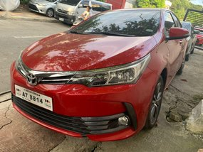 Sell Red 2018 Toyota Altis in Makati