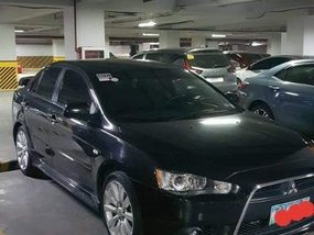 Selling Black Mitsubishi Lancer 2012 in Caloocan