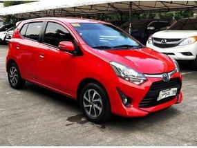 Sell Red 2018 Toyota Wigo in Manila