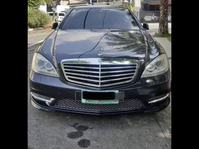 Black Mercedes-Benz S-Class 2011 Sedan at 43000 for sale