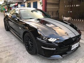 Sell Black 2018 Ford Mustang in Quezon City