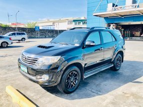 Black Toyota Fortuner 2012 for sale in Manila