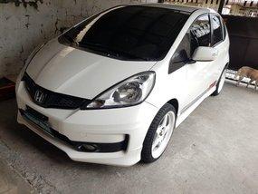 White Honda Jazz 2012 for sale in Quezon City