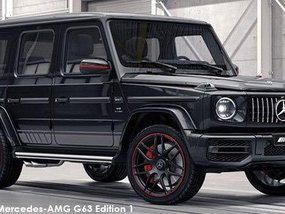 2020 Mercedes-Benz G63 AMG Full Options
