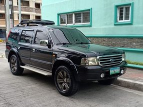 Ford Everest 2006 Manaual
