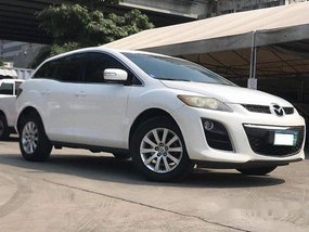 Selling White Mazda Cx-7 2010 in Makati