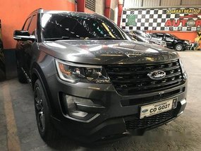 Sell Black 2017 Ford Explorer in Quezon City
