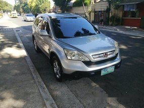 Selling Silver Honda Cr-V 2008 in Quezon City