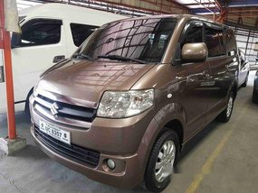 Brown Suzuki Apv 2016 for sale in Marikina