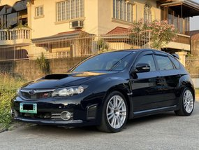 Sell Black 2008 Subaru Impreza in Las Piñas