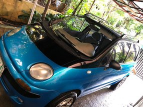 Selling Blue Chevrolet Matiz 1999 in Manila