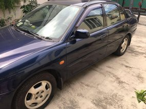 Blue Mitsubishi Lancer 1997 for sale in Bacoor