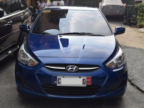 Selling Blue Hyundai Accent 2017 in Quezon City