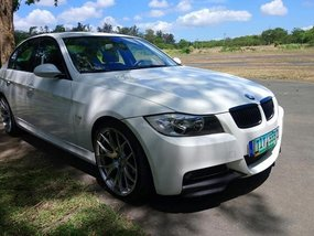 Selling White Bmw 320I 2007 in Tanauan