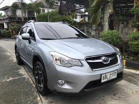 Silver Subaru Xv 2015 for sale in Quezon City