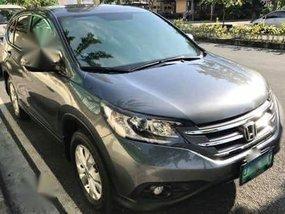 Sell Grey 2012 Honda Cr-V in Manila
