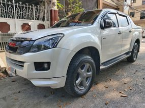 Pearl White Isuzu D-Max 2015 for sale in Pasig