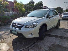 Selling Pearl White Subaru Xv 2012 in Las Pinas