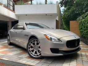 Beige Maserati Quattroporte 2014 for sale in Automatic