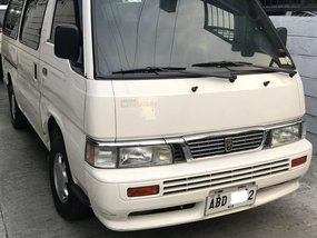 Selling White Nissan Urvan 2015 in Manila