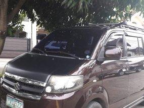 Black Suzuki Apv 2010 for sale in Manual
