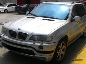 Silver Bmw X5 2002 for sale in Automatic