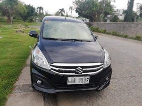 Black Suzuki Ertiga 2017 for sale in Manila