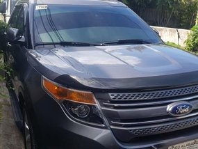 Grey Ford Explorer 2014 for sale in Automatic