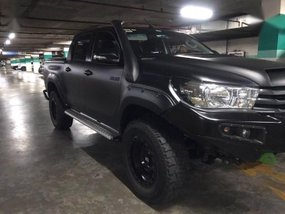 Sell Black 2017 Toyota Hilux in Manila
