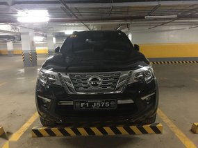 Selling Black Nissan Terra 2019 in Quezon City