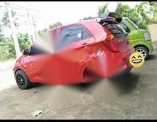 Selling Red Kia Picanto 2016 in Marikina