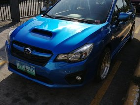 Sell Blue 2017 Subaru Impreza in Quezon City