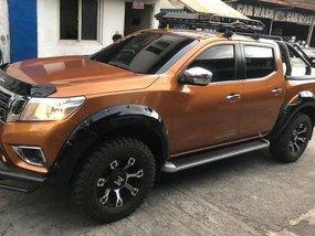Orange Nissan Navara 2016 for sale in Quezon City