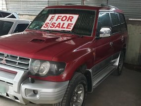 Red Mitsubishi Pajero 2003 for sale in Cortes