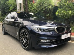 Black Bmw 520D 2019 for sale in Automatic