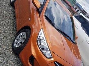 Selling Orange Hyundai Accent 2017 in Lipa