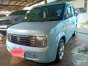 Blue Nissan Cube 2003 for sale in Automatic