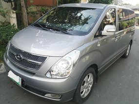 Silver Hyundai Grand starex 2011 for sale in Quezon City