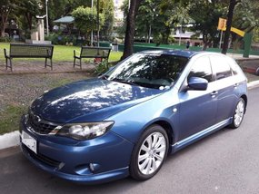 Sell Blue 2010 Subaru Impreza in Manila