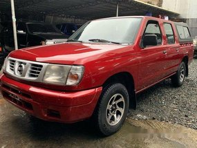 Red Nissan Frontier Navara 2009 for sale in Quezon City