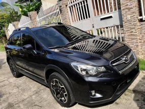 Sell Black 2012 Subaru Xv in Quezon City