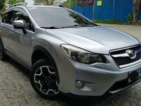 Silver Subaru Xv 2013 for sale in Quezon City