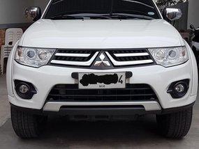 Sell White 2014 Mitsubishi Montero in Manila